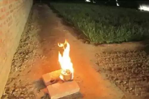 应用增温增肥燃烧块